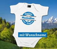 Baby Body mit Wunschname
