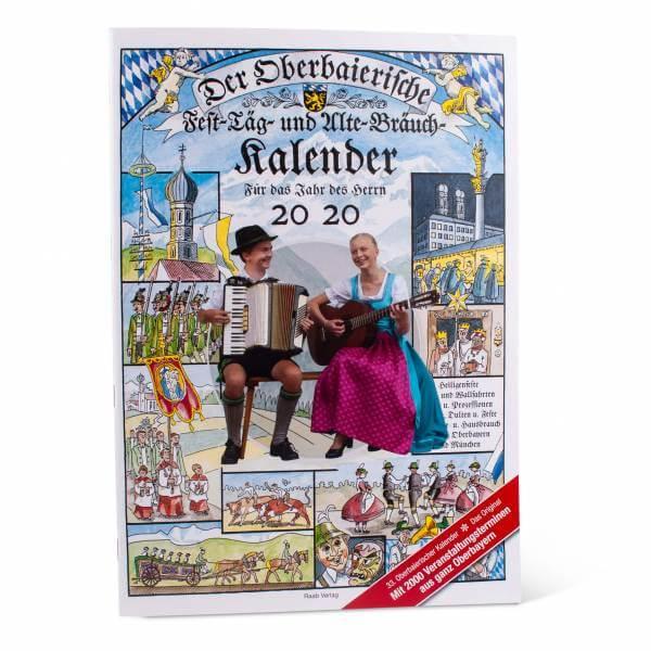 Oberbaierischer Fest-Täg- und Alte-Bräuch-Kalender 2020