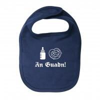 Babylätzchen 'An Guadn' marine