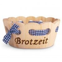 "Holzkorb ""Brotzeit"""