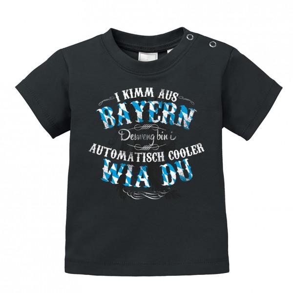 Baby Shirt 'I kimm aus Bayern ...' - Größe: 92/98 (2-3 Jahre)
