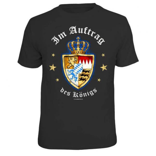 """Herren-Shirt """"Im Auftrag des Königs"""""""