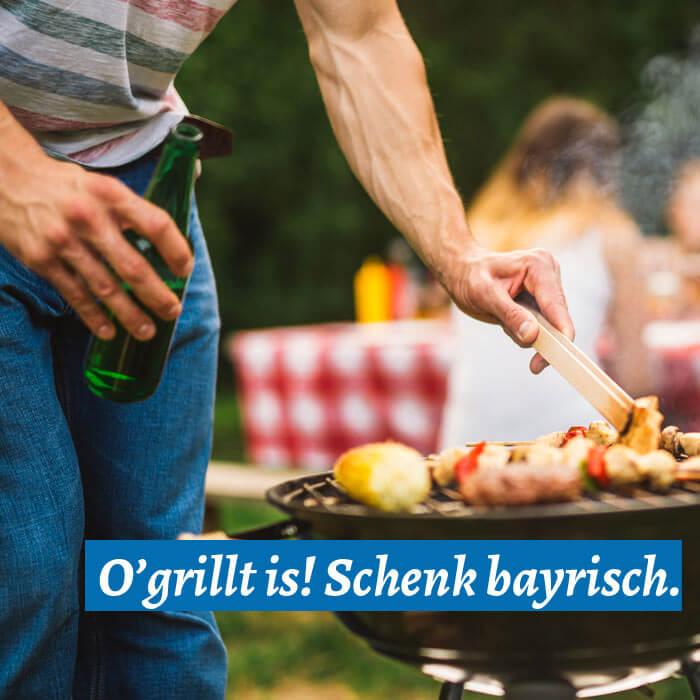 Bayerische Kennzeichenhalter