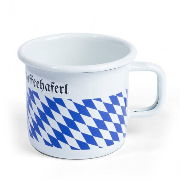 Emaille-Kaffeehaferl