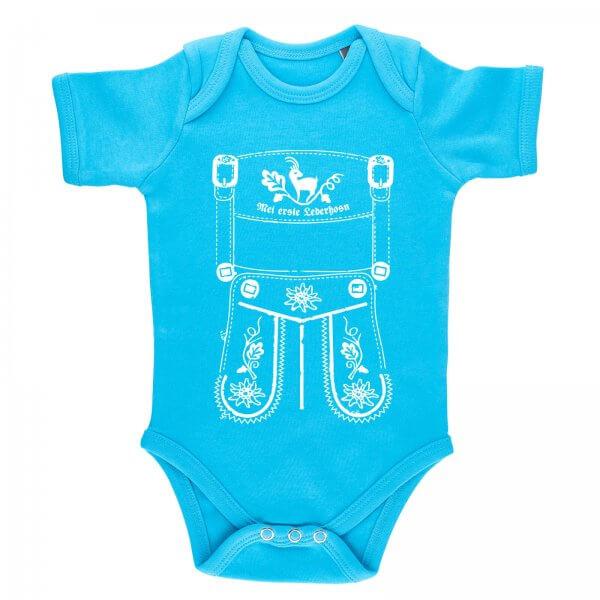 """Baby Body Lederhose """"Mei erste Lederhosn"""""""