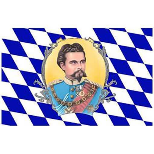 "Bayerische Flagge ""König Ludwig"""