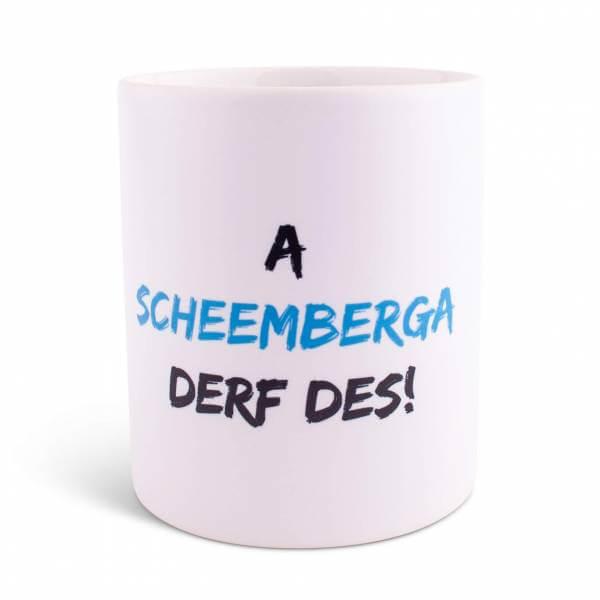 """Tasse """"Derf des"""" mit Wunschname/Ort"""