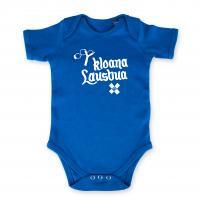 "Baby Body ""Kloana Lausbua"" blau"