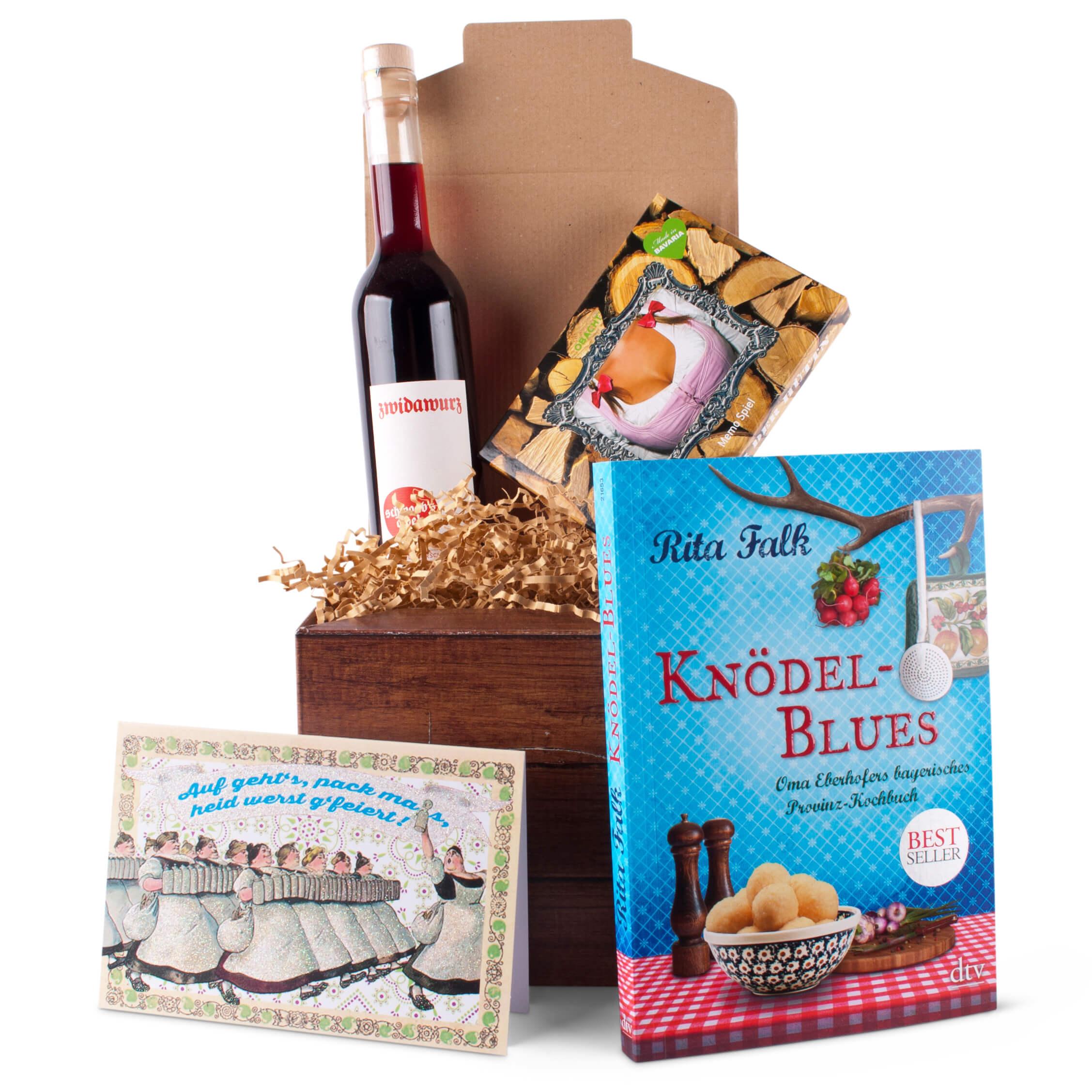 geschenkbox scheidung f r m nner geschenke aus bayern. Black Bedroom Furniture Sets. Home Design Ideas