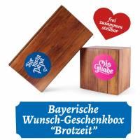 """Wunsch-Geschenkbox """"Brotzeit"""""""
