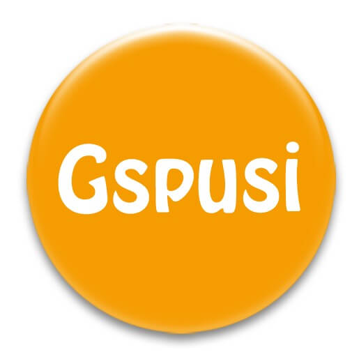 Nadel-Button 'Gspusi'