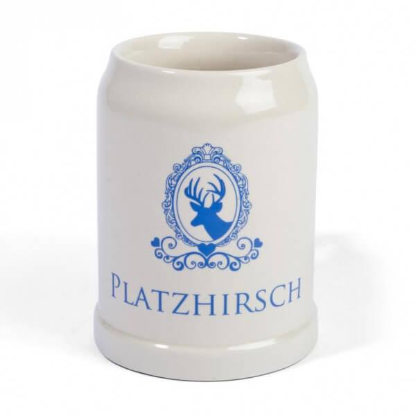 Steinkrug 'Platzhirsch'
