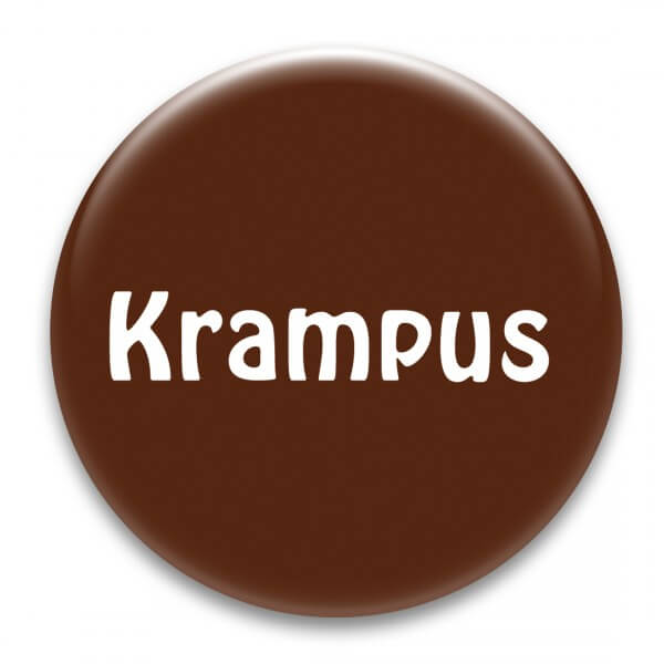 Nadel-Button 'Krampus'