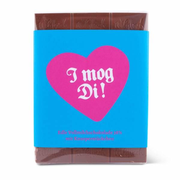 "Bayrische Schokolad ""I mog Di"""
