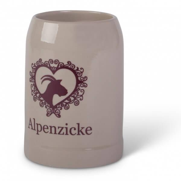 Steinkrug 'Alpenzicke'