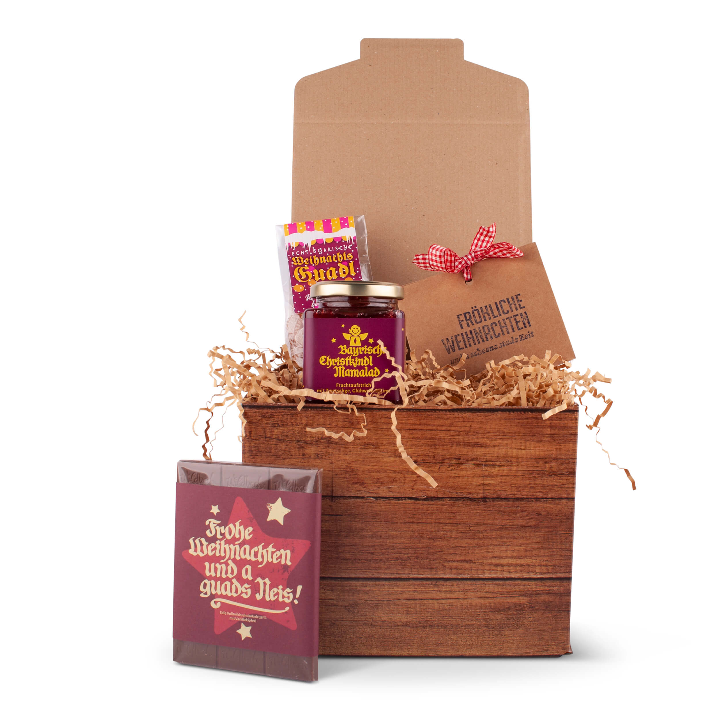 Geschenkbox Weihnachten.Geschenkbox Frohe Weihnachten