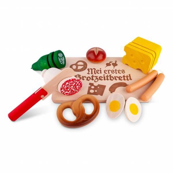"Holzspielzeug ""Brotzeitbrettl"""