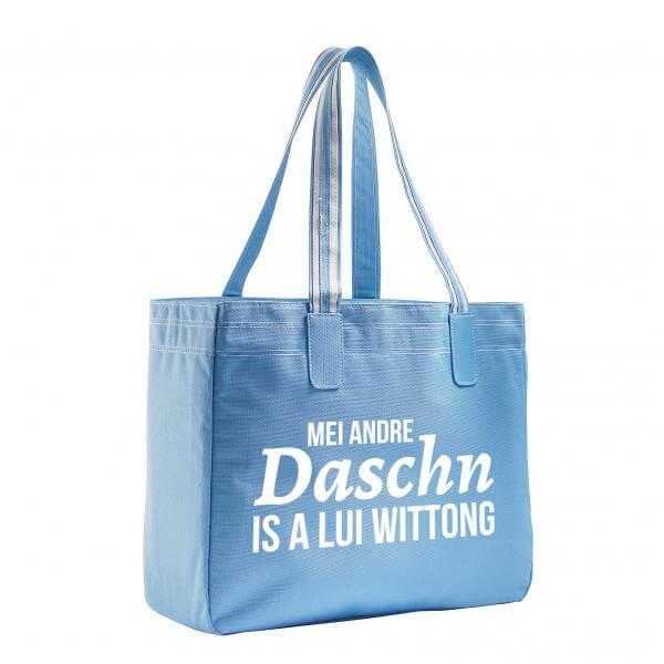 Beach Bag 'Lui Wittong' blau