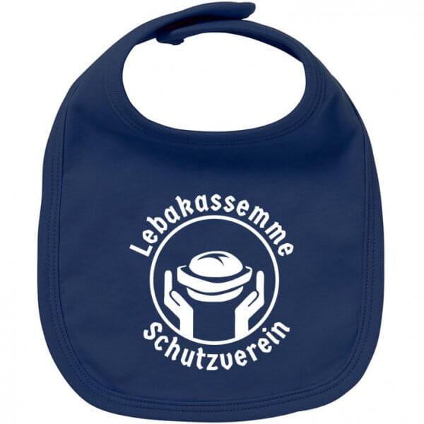 """Babylätzchen """"Leberkassemme Schutzverein"""""""