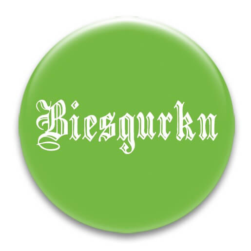 Nadel-Button 'Biesgurkn'