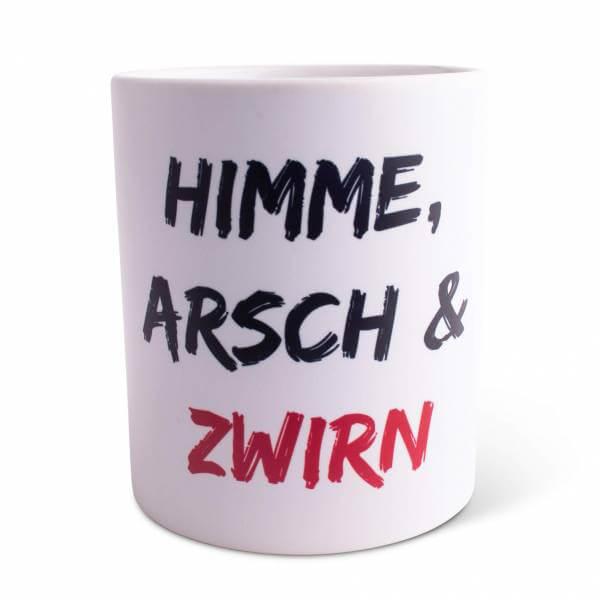"""Tasse """"Himme, Arsch & Zwirn"""""""