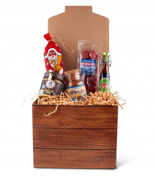 """Geschenkbox """"Herzhafte Weihnachten"""""""