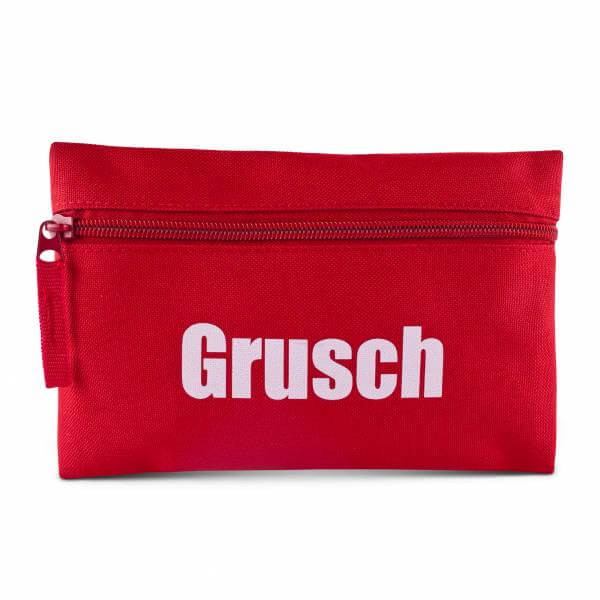 "Mini-Tasche ""Grusch"" rot"