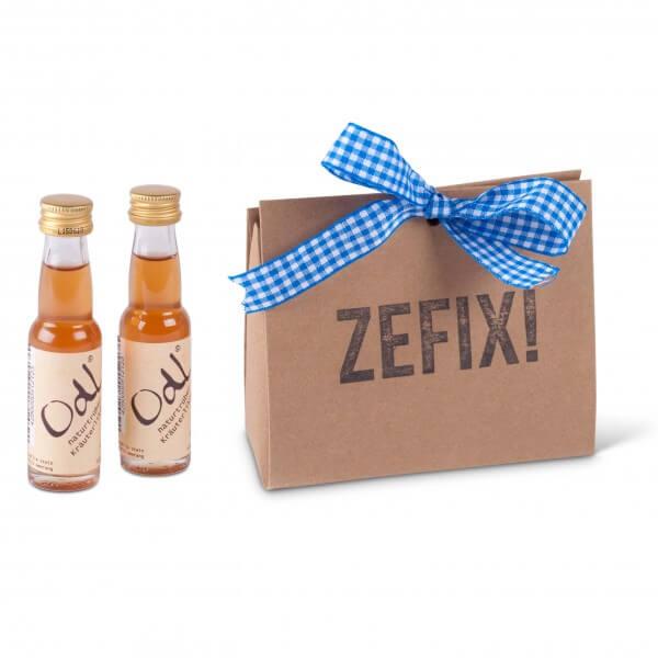 Geschenkpackerl 'Odl' Zefix