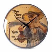 "Wanduhr ""Landwirtschaft"""