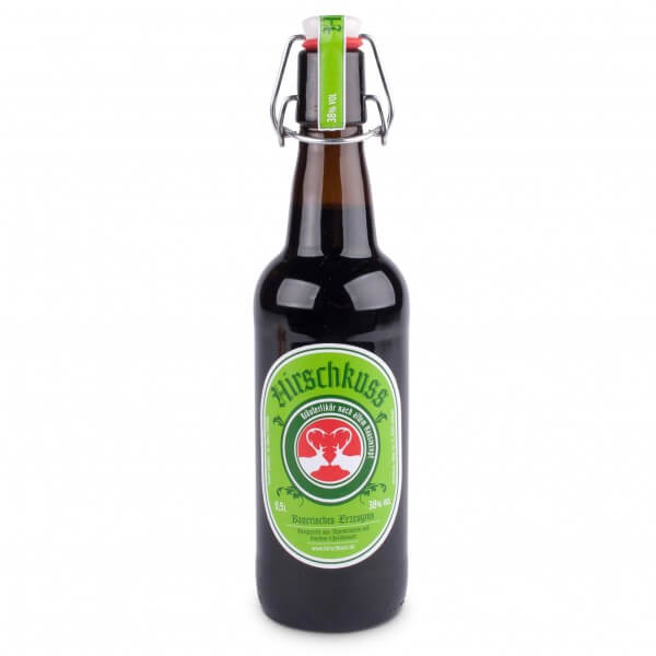 Kräuterlikör 'Hirschkuss' 0,5 Liter