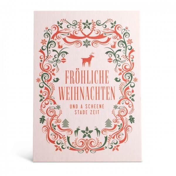 """Glückwunschkarte """"Fröhliche Weihnachten"""""""