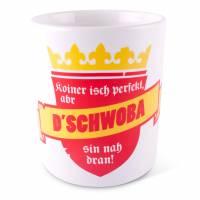 """Tasse """"Koiner is perfekt"""" Schwaben"""