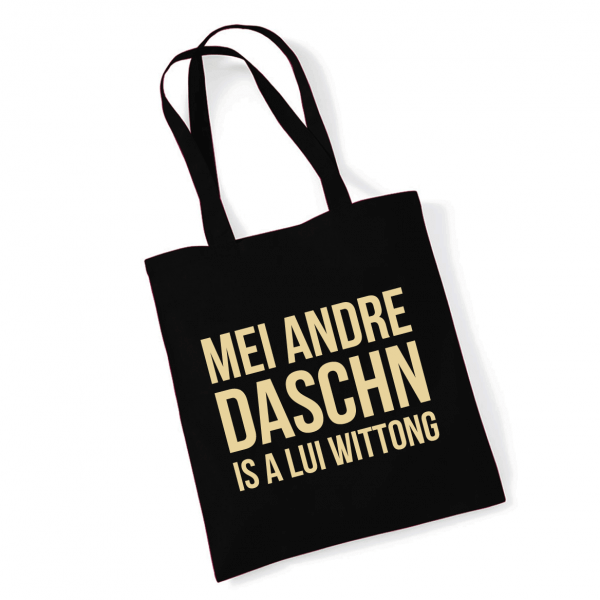 Tasche 'Lui Wittong' schwarz-gold
