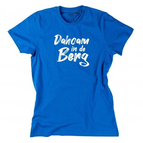 """Herren-Shirt """"Dahoam in de Berg"""""""