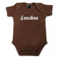 Baby Body 'Lausbua' braun - Größe: 74 (12 - 18 Monate)