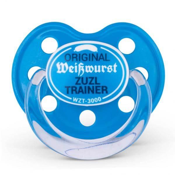 Dizzl 'Weisswurst Zuzl Trainer' blau