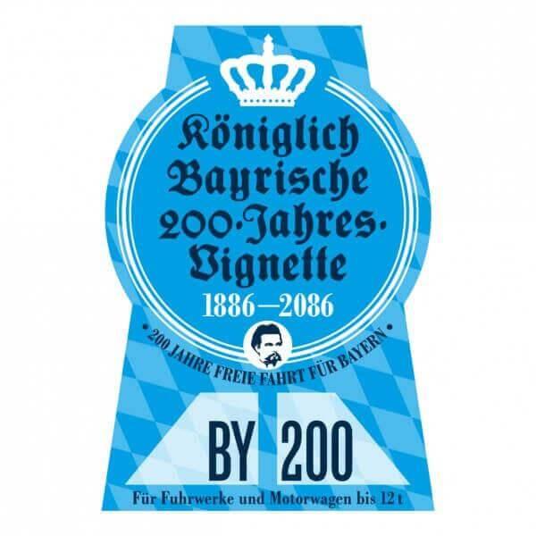 Königlich Bayrische 200-Jahres-Vignette