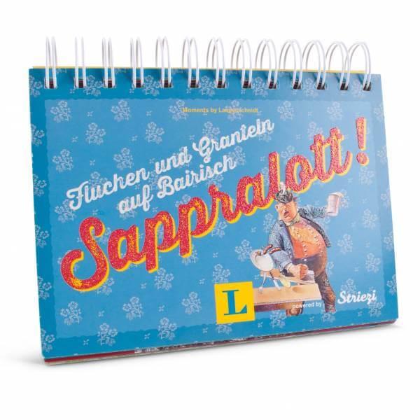 """Postkarten-Aufstellbuch """"Sappralott!"""""""