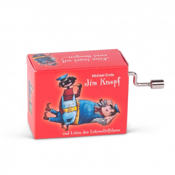Mini-Drehorgel 'Jim Knopf - das Lummerlandlied'