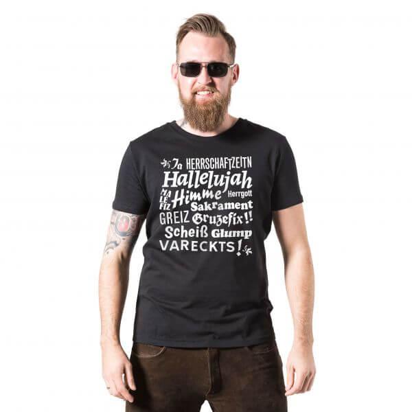 Herren-Shirt 'Hallelujah' - Größe XXXL