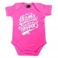 """Baby Body """"Ganz die Mama"""" pink"""
