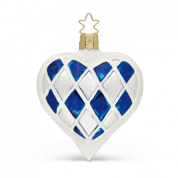 Christbaumschmuck 'Boarisches Herz'