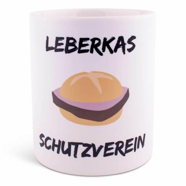 """Tasse """"Leberkas Schutzverein"""""""
