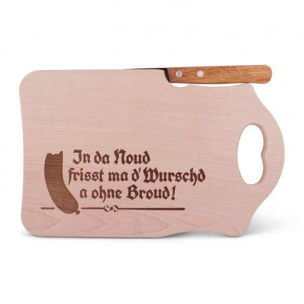 "Brotzeitbrettl ""In da Noud"""