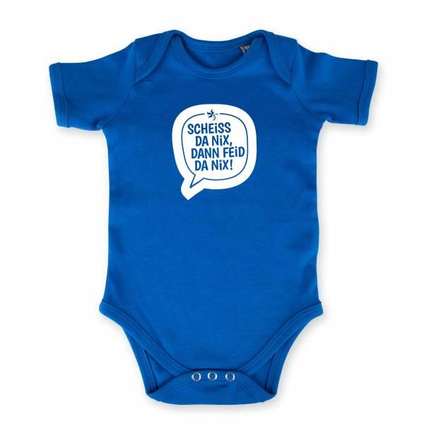 "Baby Body ""Scheiss da nix"" blau"