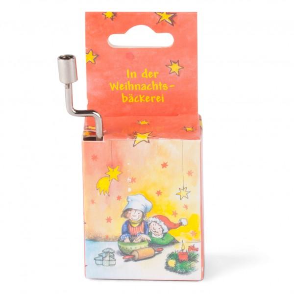 Mini-Drehorgel 'In der Weihnachtsbäckerei'