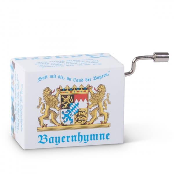 Mini-Drehorgel 'Bayern-Hymne'