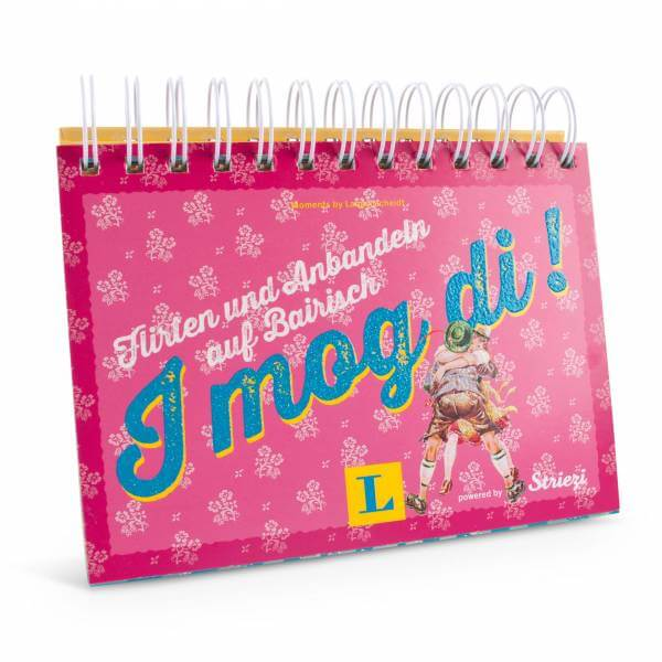 "Postkarten-Aufstellbuch ""I mog di!"""