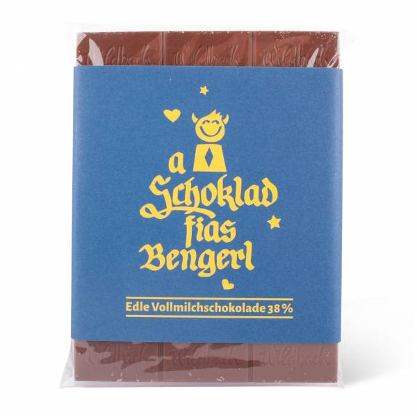"""Schokolade """"A Schokolad fias Bengerl"""""""