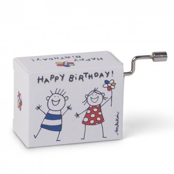 Mini-Drehorgel 'Happy Birthday'